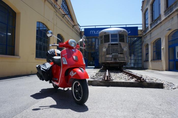 Pontedera, entrada museo