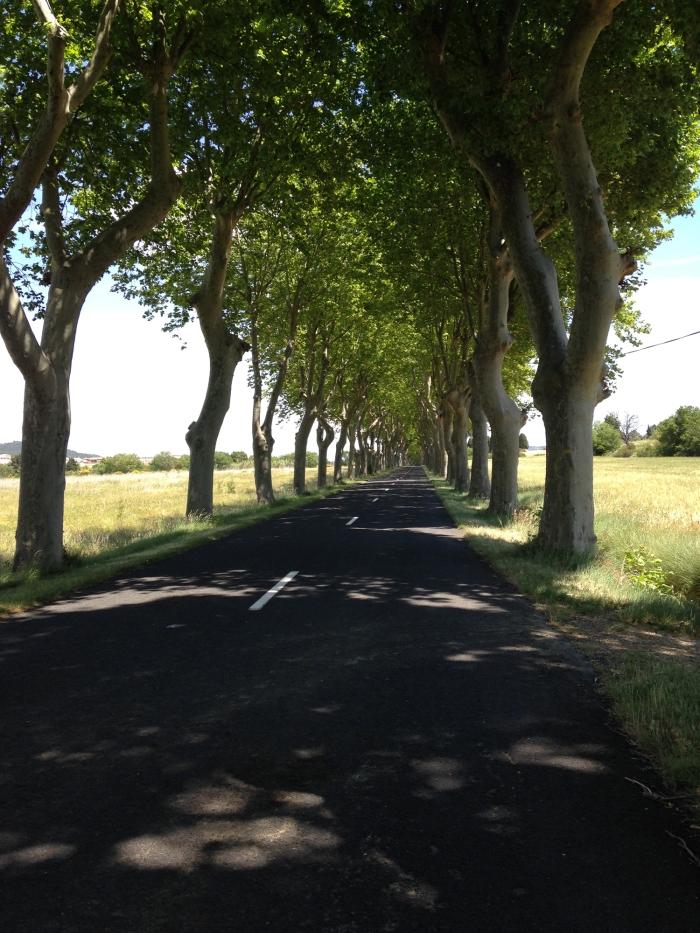 Carretera por Béziers