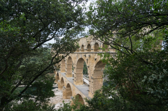 Pont du Gard (Nimes, Francia)