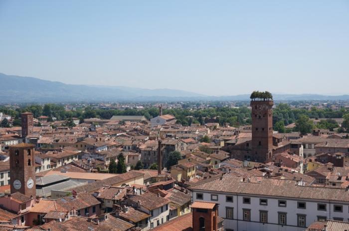 Lucca, panorámica