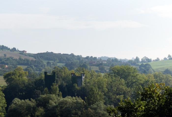 Castillo de Priorio (Las Caldas, Oviedo)