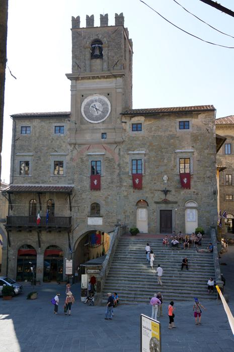 Cortona, Piazza della Republica
