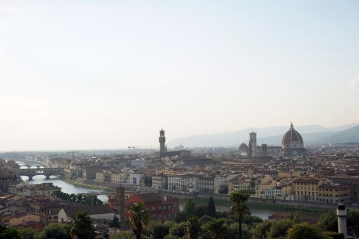 Florencia, panorámica