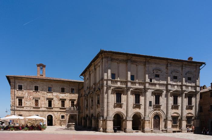 Montepulciano, plaza