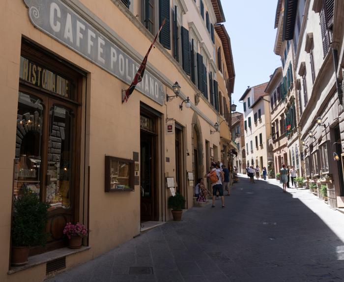 Montepulciano, Caffè Poliziano
