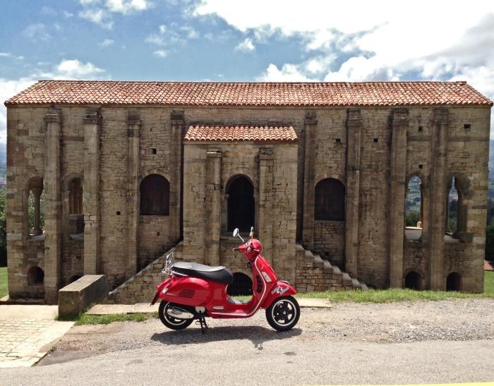 Vespa Naranco (Oviedo - Asturias)