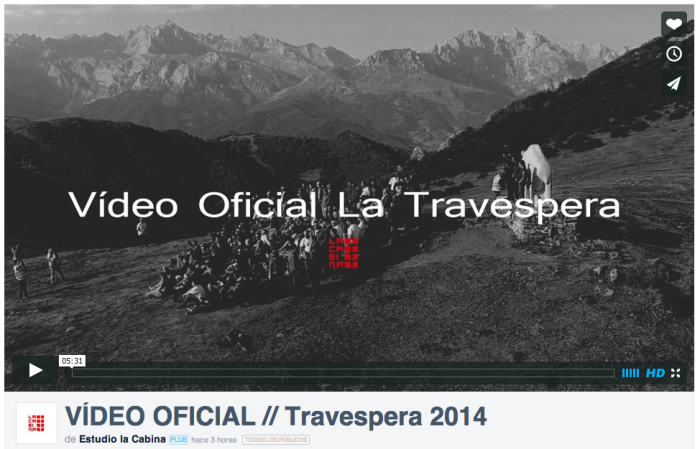 Vídeo Oficial - La Travespera 2014