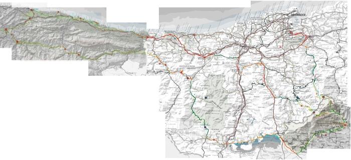 Mapa Ruta Cuevas del Norte