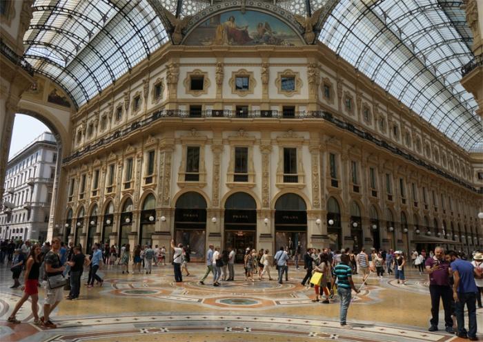 Galería Vittorio Emmanuele II - Milán