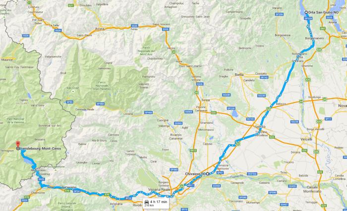 Etapa 6 - En ruta al Mont Cenis