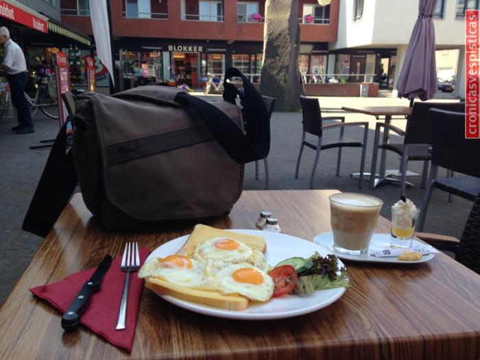 Desayuno en Holanda