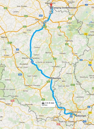 Etapa 10 de Luxemburgo a Oosterdriessen