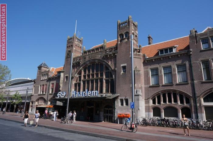 Haarlem Estación - fachada