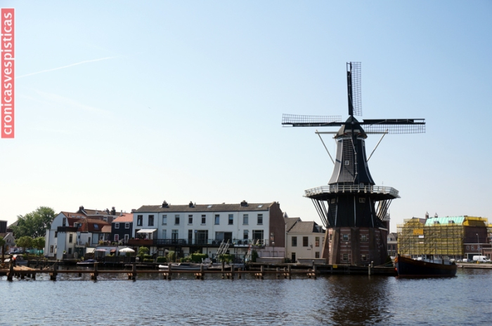 Haarlem - molino de Adriaan
