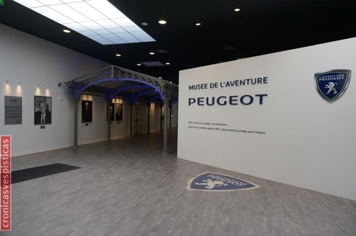 Museo Peugeot - Entrada