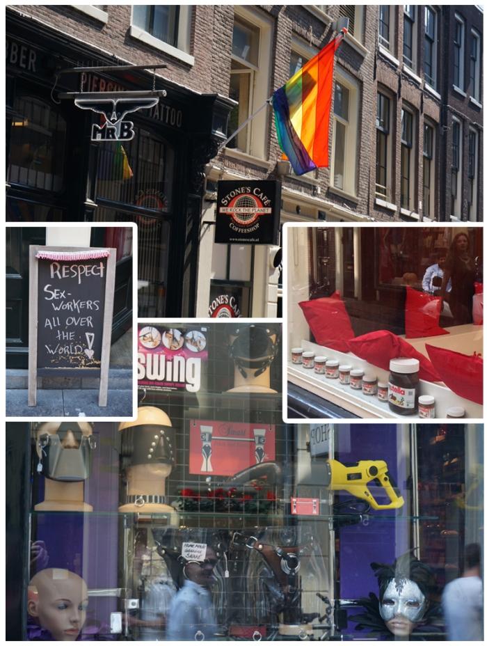 Amsterdam - barrio rojo
