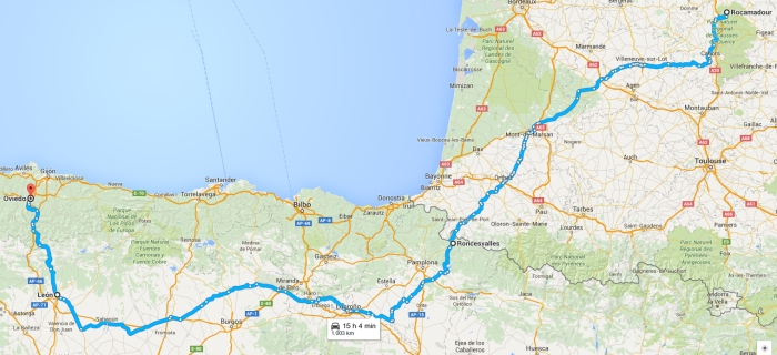 Etapa 16 - de Rocamadour a Oviedo